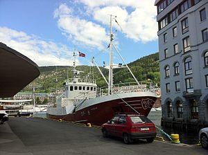 MS Haugefisk in Bergen harbour 01.jpg