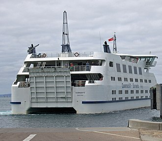 MV Sorrento (2001) - Stern view of the ferry