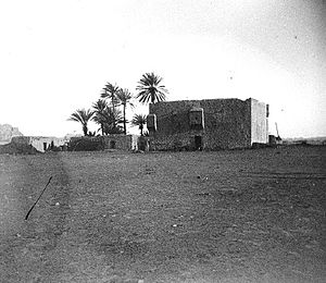 Mada'in Saleh - The Ottoman Hajj Fort at Mada'in Salih, 1907.