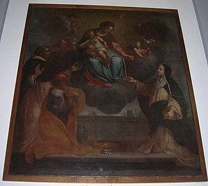 Giovanni Stefano Marucelli - Image: Madonna Del Carmelo Uliveto