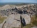 Maen wedi ei hollti - A split boulder - geograph.org.uk - 1317628.jpg