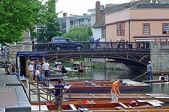 Magdalene Street - Magdalene Bridge