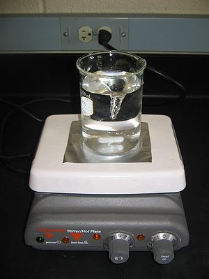 Mixing (process engineering) - A magnetic stirrer