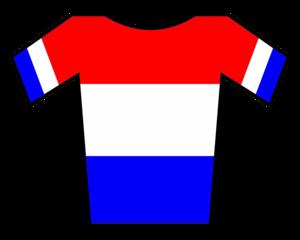 Johan van der Velde - Image: Maillot Holanda