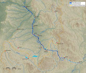 Rhine–Main–Danube Canal - The RMD Canal from Bamberg to Kelheim