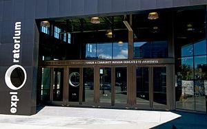 Exploratorium - Main entrance to the Exploratorium at Pier 15