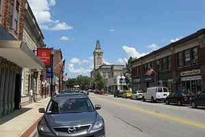 Marlborough, Massachusetts - Main Street