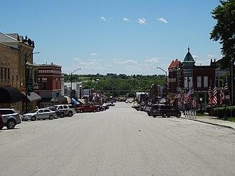 Corning, Iowa - View of Main Street in Corning