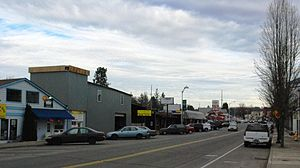 English: Downtown Tigard, Oregon, Main Street