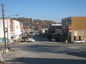 Anderson, Missouri - Main Street, Anderson, 2006