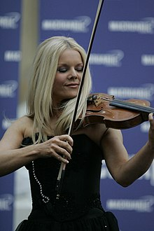 Mairead Nesbitt at Macquarie Shopping Centre, Sydney.jpg