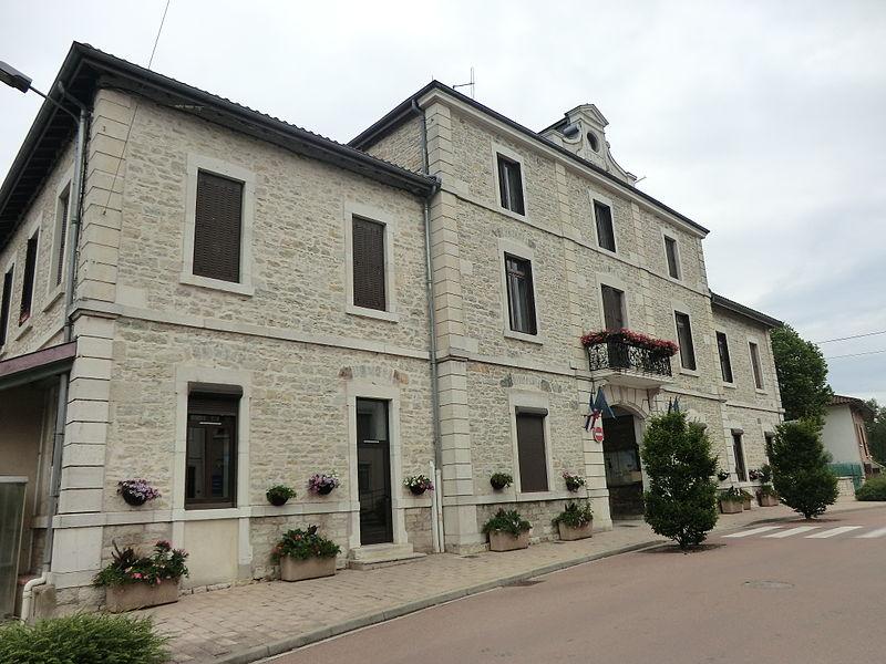 Mairie de Chalamont.