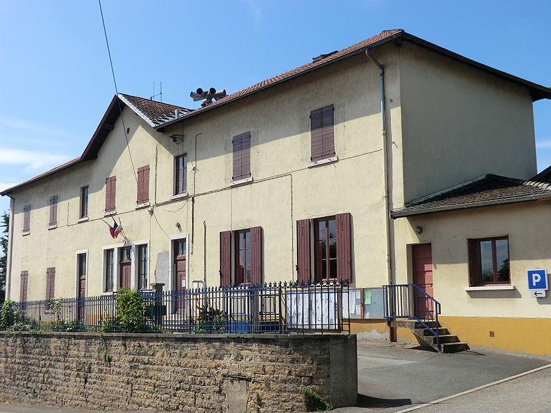 Mairie de Civrieux.