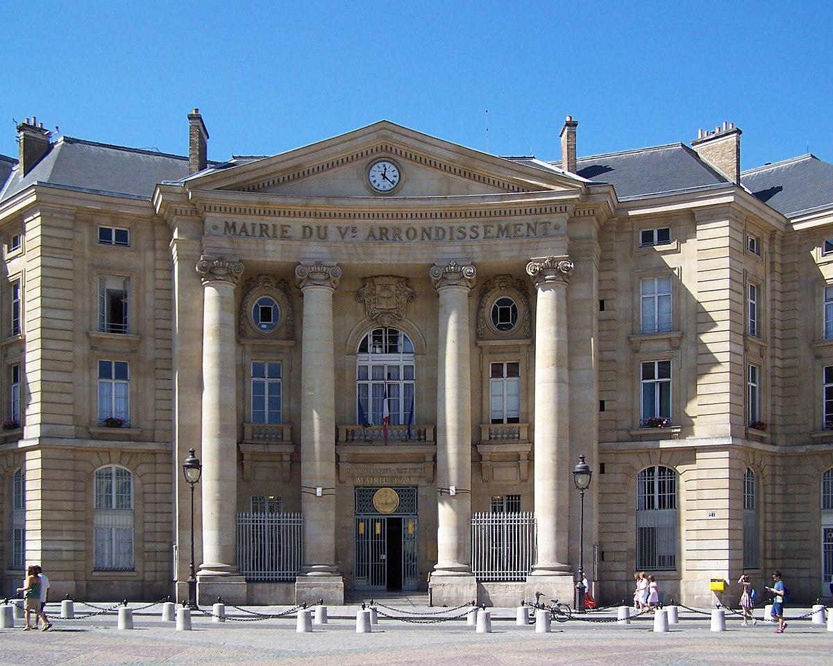 Mairie du 5e arrondissement de paris wikip dia - Statut de la ville de paris ...