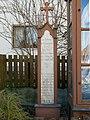 Maisach-Galgen Galgen2 Kruzifix mit Lourdesmadonna 02.jpg