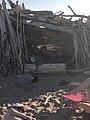 Makeshift shacks from the driftwood.jpg