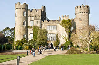 Malahide Castle Castle and demesne by the village of Malahide, County Dublin