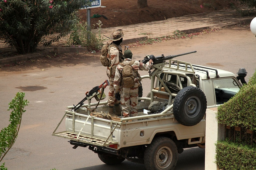 Malian soldiers in Bamako during 2012 coup.jpg