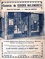 Malumbres dendaren iragarki-kartela XX. mendean.jpg