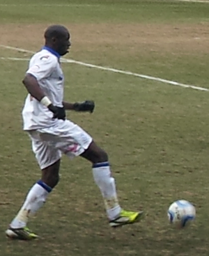 Mamady Sidibé - Sidibé playing on loan for Tranmere Rovers.