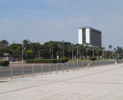 Manila Hotel From Afar