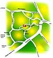 Maniyoor shiva Temple Route map.jpg