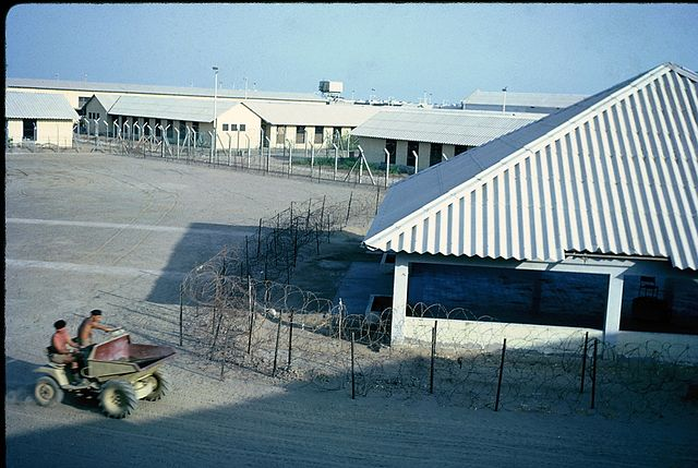 Mansura Detention Centre By Brian Harrington Spier from Shanghai, China (Aden 1966) [CC-BY-SA-2.0 (https://creativecommons.org/licenses/by-sa/2.0)], via Wikimedia Commons