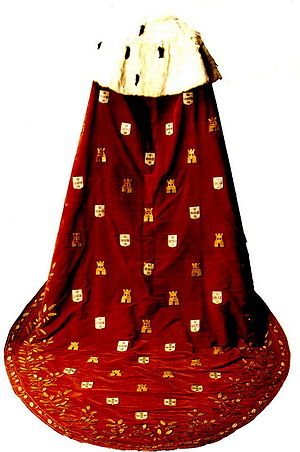 Portuguese Crown Jewels - The Mantle of Luís I.