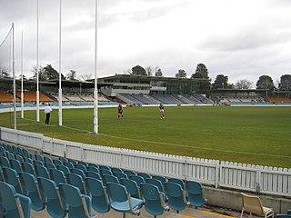 Manuka Oval stadium in Canberra, Australian Capital Territory