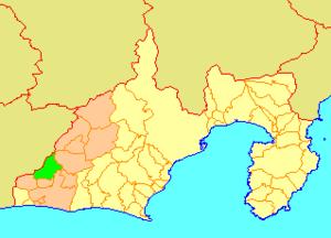 Inasa, Shizuoka - Image: Map.Inasa.Shizuoka
