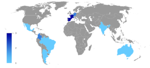 Tryton - Worldwide distribution of service companies that are part of the federation of the Tryton project