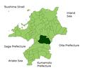 Map Asakura, Fukuoka en.png