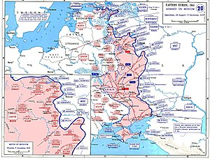 The German offensives during operation Typhoon.