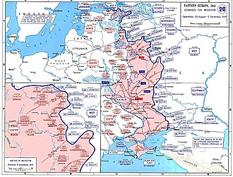 First Battle of Kharkov - The German advances made from 26 August to 5 December 1941