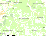 Map commune FR insee code 24364.png
