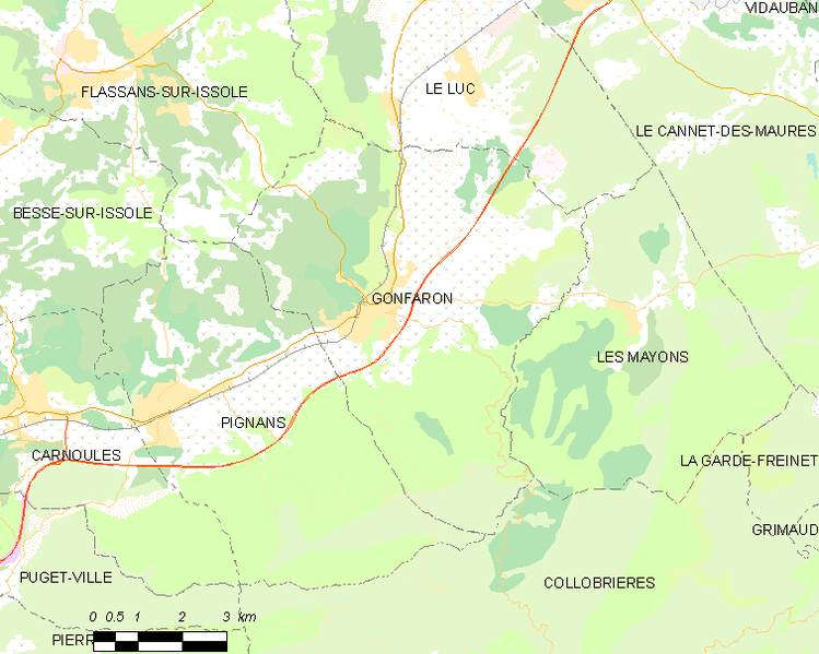 File:Map commune FR insee code 83067.png