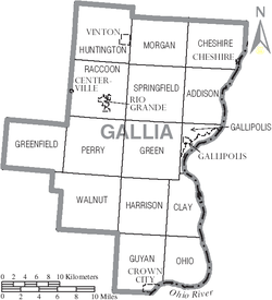 Map of Gallia County Ohio With Municipal and Township Labels.PNG