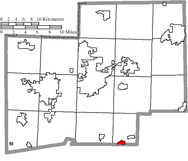 Location of Magnolia in Stark County