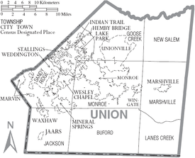 Image result for Unionville, Union County, NC