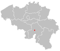 Map of anhée in belgium.PNG