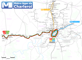 Image illustrative de l'article Métro léger de Charleroi