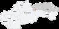 Map slovakia ganovce.png