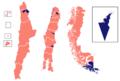 Mapa electoral Segunda vuelta Elección presidencial Chile de 2013 por Comunas.png
