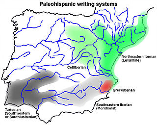ancient writing system from the Iberian peninsula