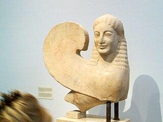 Sphinx (Acropolis Museum n. 632)