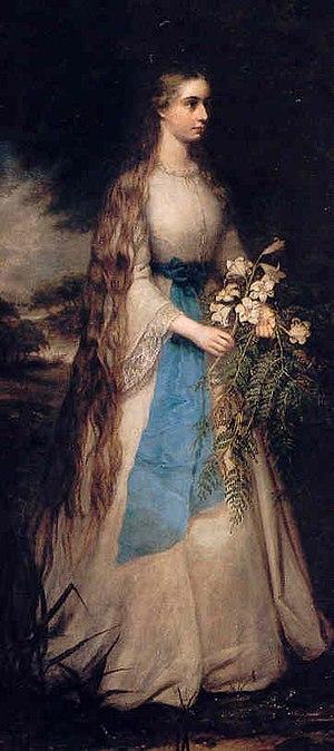 Richard Buckner (artist) - Hon. Margaret Warren (1847–1921). Daughter of George Warren, 2nd Baron de Tabley. Wife to Sir Arthur Cowell-Stepney, 2nd Baronet.
