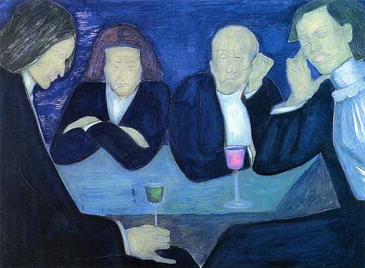 Marianne von Werefkin - At the Café