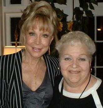 Marilyn Borden - Marilyn Borden at the 2005 Lucy convention with headliner Barbara Eden.