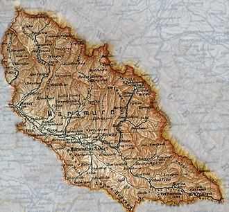 Maramureș - Máramaros County (Hungarian: Máramaros vármegye; Romanian: Comitatul Maramureş; Ukrainian: Комітат Марамарош), 1905