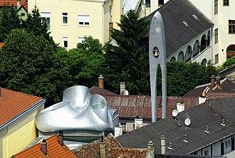 Coop Himmelb(l)au - Martin Luther Kirche in Hainburg, Austria
